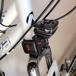 Bike Rail Rubber Strap Mount