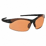 Edge Tactical Eyewear SSE610 Sharp Edge Matte Black with Tiger's Eye Lens
