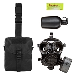 Military Gas Mask & Nuclear Survival Kit
