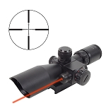 Firefield 2.5-10x40 Riflescope with Red Laser