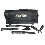 12 Survivors  Knife Roll Up Kit