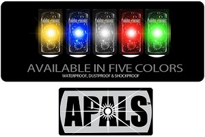 APALS (All Purpose Light Strips) 10pk Velcro